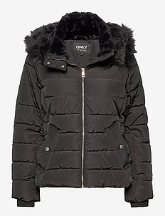 ONLCAMILLA QUILTED JACKET CC OTW - toppatakit - black
