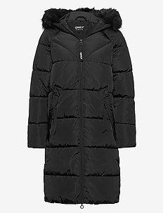 ONLMONICA LONG PUFFER COAT CC OTW - manteaux d'hiver - black