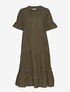 ONLMARTINI S/S MIDI DRESS WVN - do kolan & midi sukienki - kalamata
