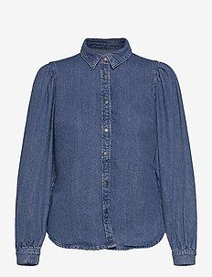 ONLROCCO LIFE LS DNM SHIRT BJ129192 - chemises à manches longues - medium blue denim