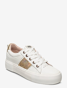 ONLLIV-1 PU SNEAKER - sneakersy niskie - white