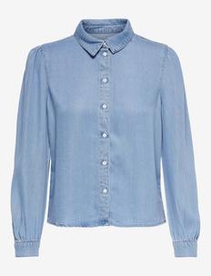 ONLBILLIE DENIM LIFE DNM SHIRT QYT - jeanshemden - medium blue denim