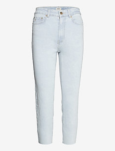 ONLEMILY LIFE HW ST R AK CROP AC700 - straight jeans - light blue denim