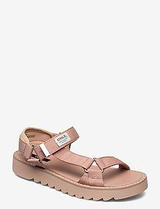 ONLMALU-5 CHUNKY WRAP SANDAL - platta sandaler - rose pink