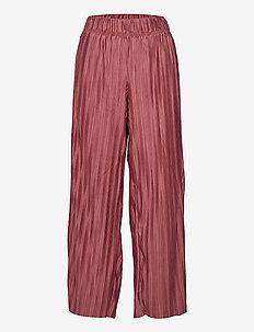 ONLELEMA PANTS BOX JRS - bukser med brede ben - apple butter