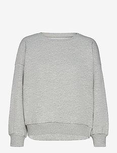 ONLKAPPI L/S O-NECK SWEAT SWT - sweatshirts & hoodies - light grey melange