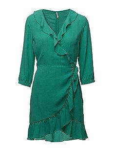 onlPIPPA L/S SHORT DRESS WVN - ARCADIA