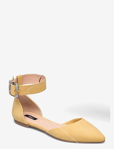 ONLANAS-6 LIFE  BUCKLE HEEL BALLERINA - schoenen - sunshine