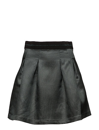 onlEVA METALLIC SKIRT TLR - JET SET
