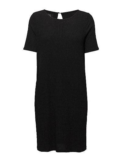 onlJACKIE 2/4 DRESS JRS - BLACK