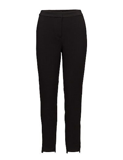 onlDARLA HIGHWAISTED TROUSERS WVN - BLACK