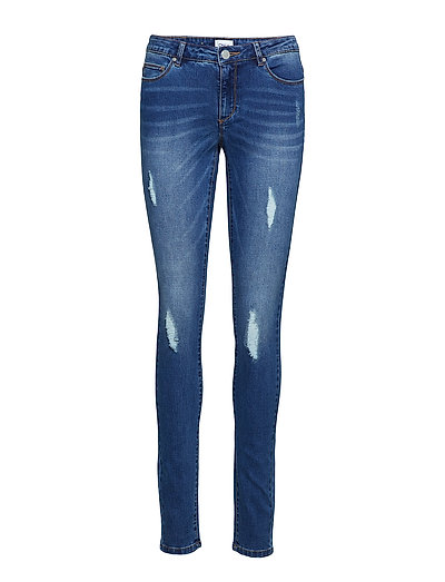 onlCARMEN REG SK DNM JEANS BJ10221 NOOS - MEDIUM BLUE DENIM