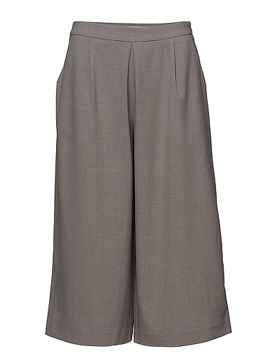 onlROMA CULOTTE PANTS TLR - LIGHT GREY MELANGE