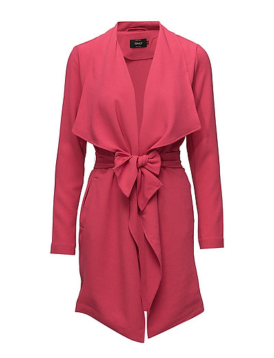 onlRUNA SPRING COAT TLR - VIRTUAL PINK