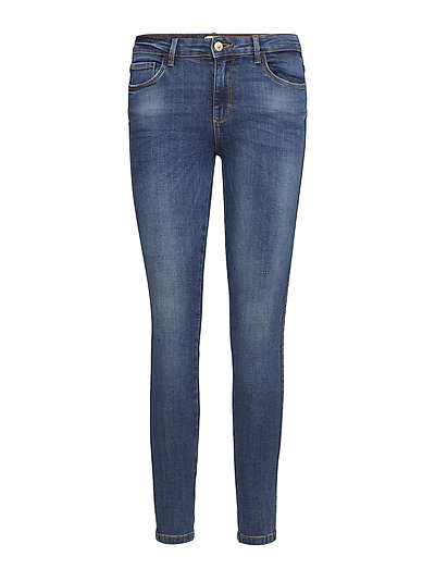 onlBOOM REG SKINNY JEANS NO02 - DARK BLUE DENIM