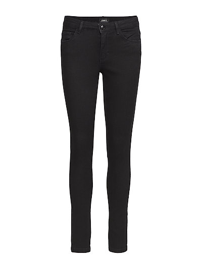 onlBOOM REG SKINNY JEANS NO BLACK - BLACK DENIM
