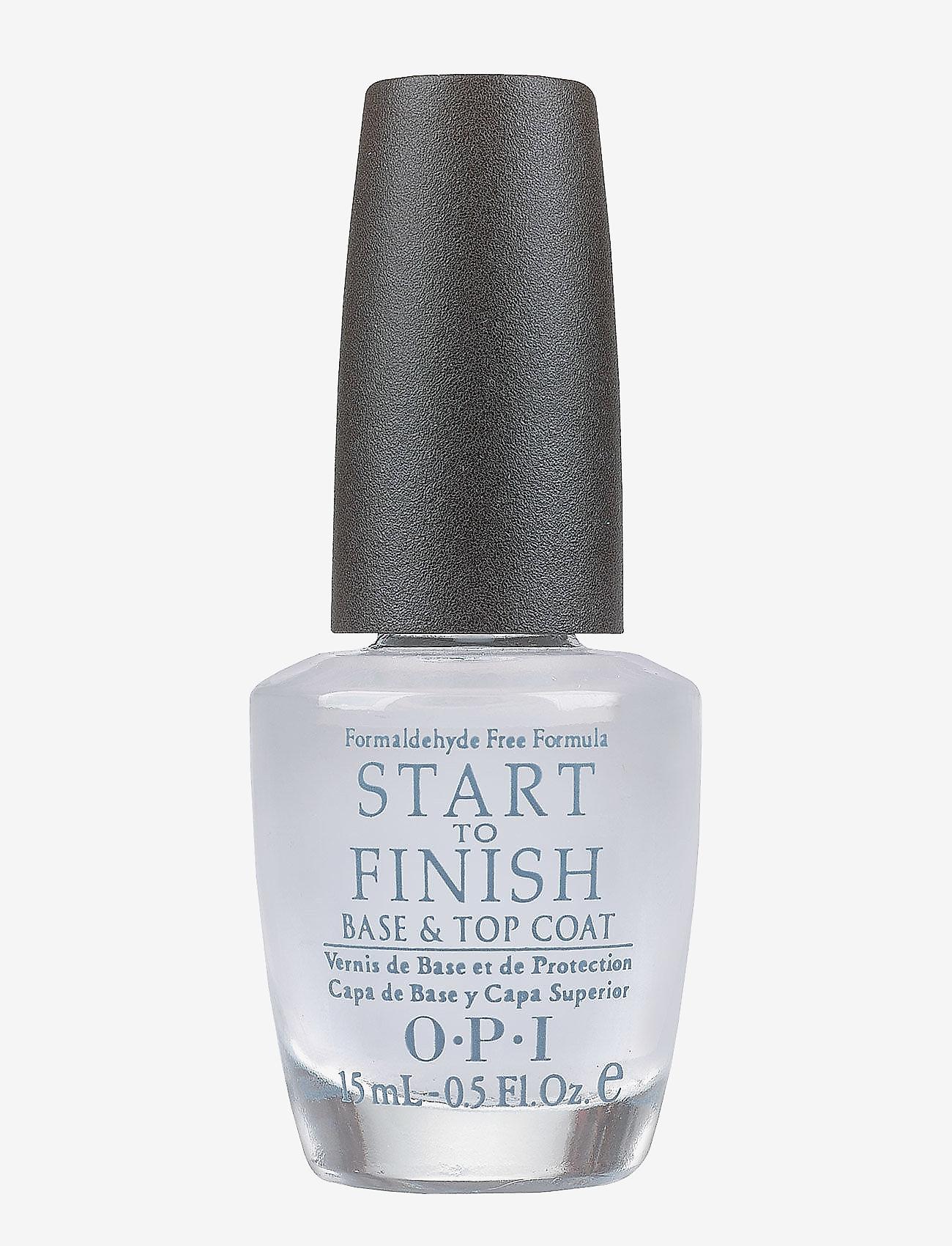 OPI - Start to Finish Base and Top Coat (u/formaldehyd) - neglelak - clear - 0
