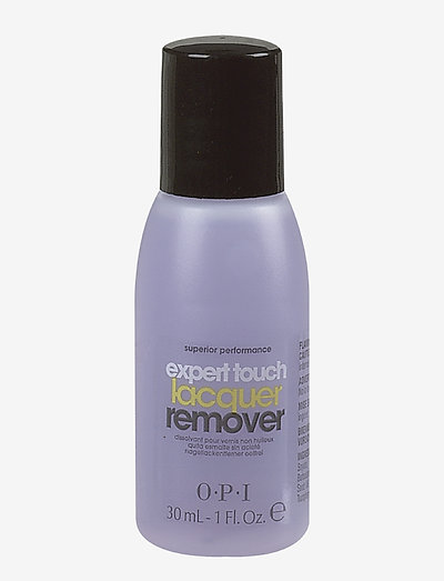 EXPERT TOUCH LACQUER REMOVER 30 ML - nagellacksborttagning - clear