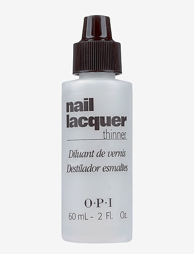 NAIL LACQUER THINNER 60 ML - neglelakk - clear