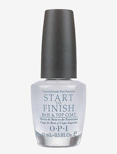 Start to Finish Base and Top Coat (u/formaldehyd) - nagellack - clear
