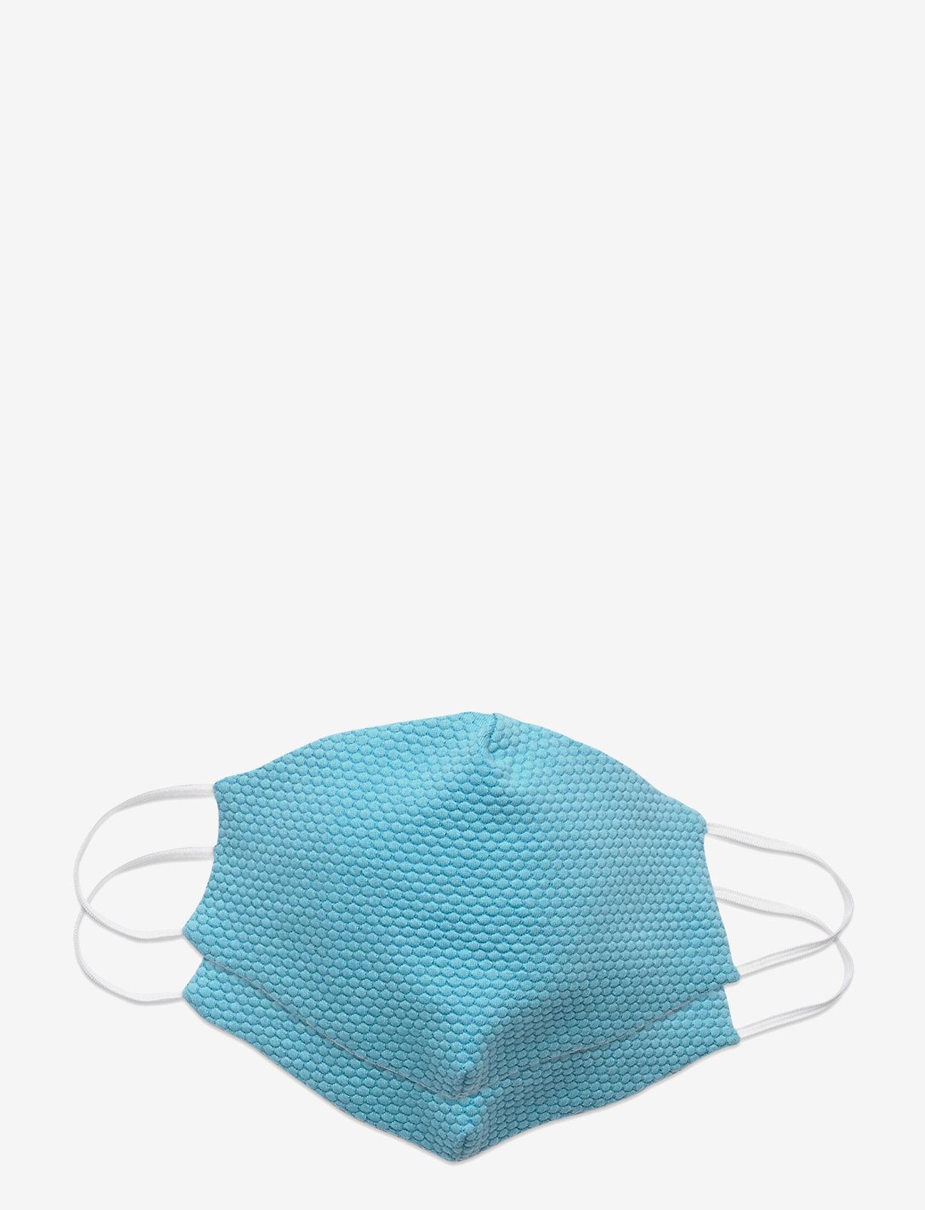 ORAS24 - Reusable face mask,2 pack, Kids 2-13 - ansiktsmasker - light blue - 1