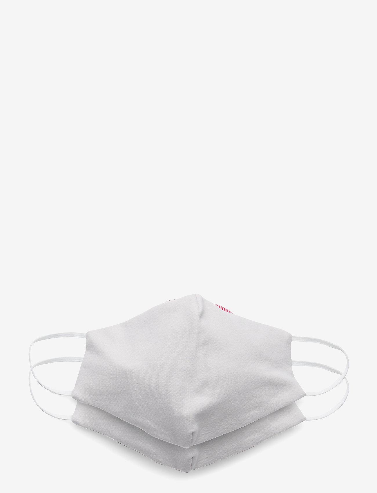 ORAS24 - Reusable face mask,2 pack, Kids 2-13 - ansiktsmasker - light grey - 0
