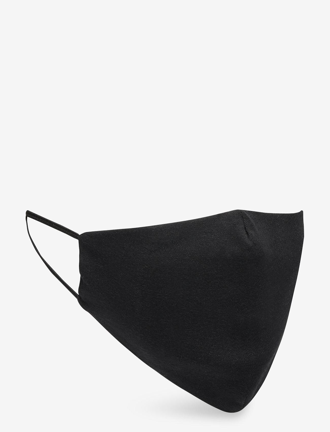 ORAS24 - Reusable face mask 2-pack - ansiktsmasker - black - 1