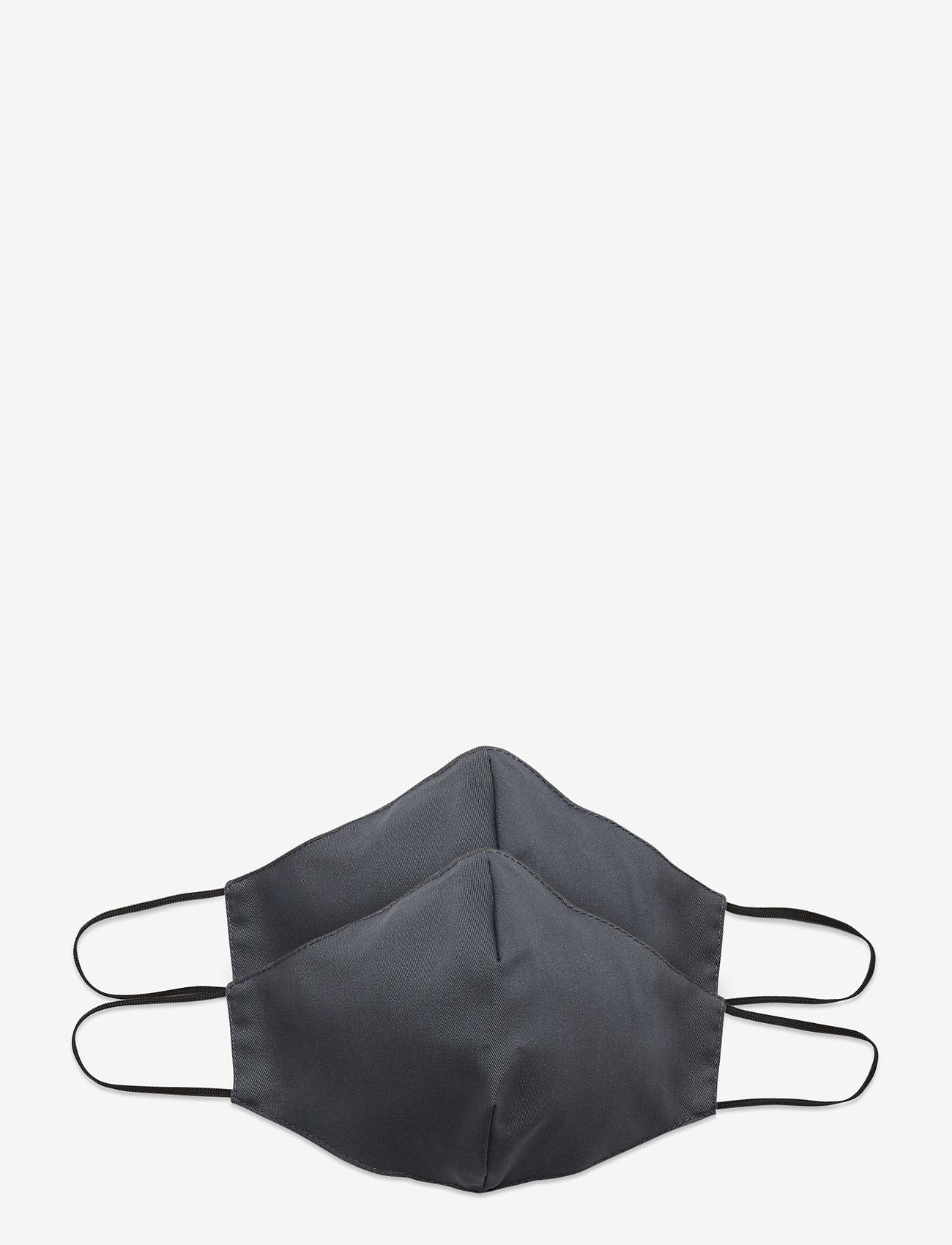 ORAS24 - Reusable face mask 2-pack - gezicht maskers - grey - 0