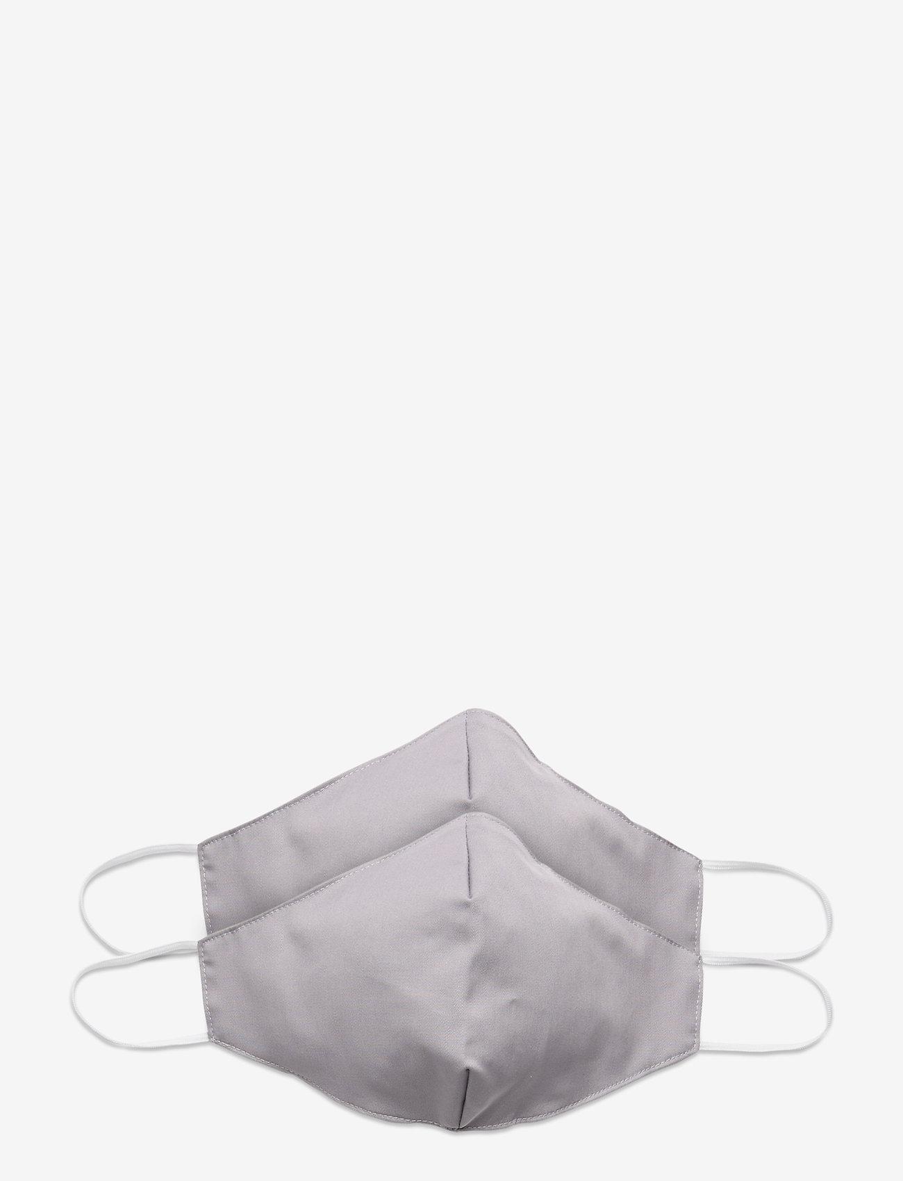 ORAS24 - Reusable face mask 2-pack - gezicht maskers - light grey - 0