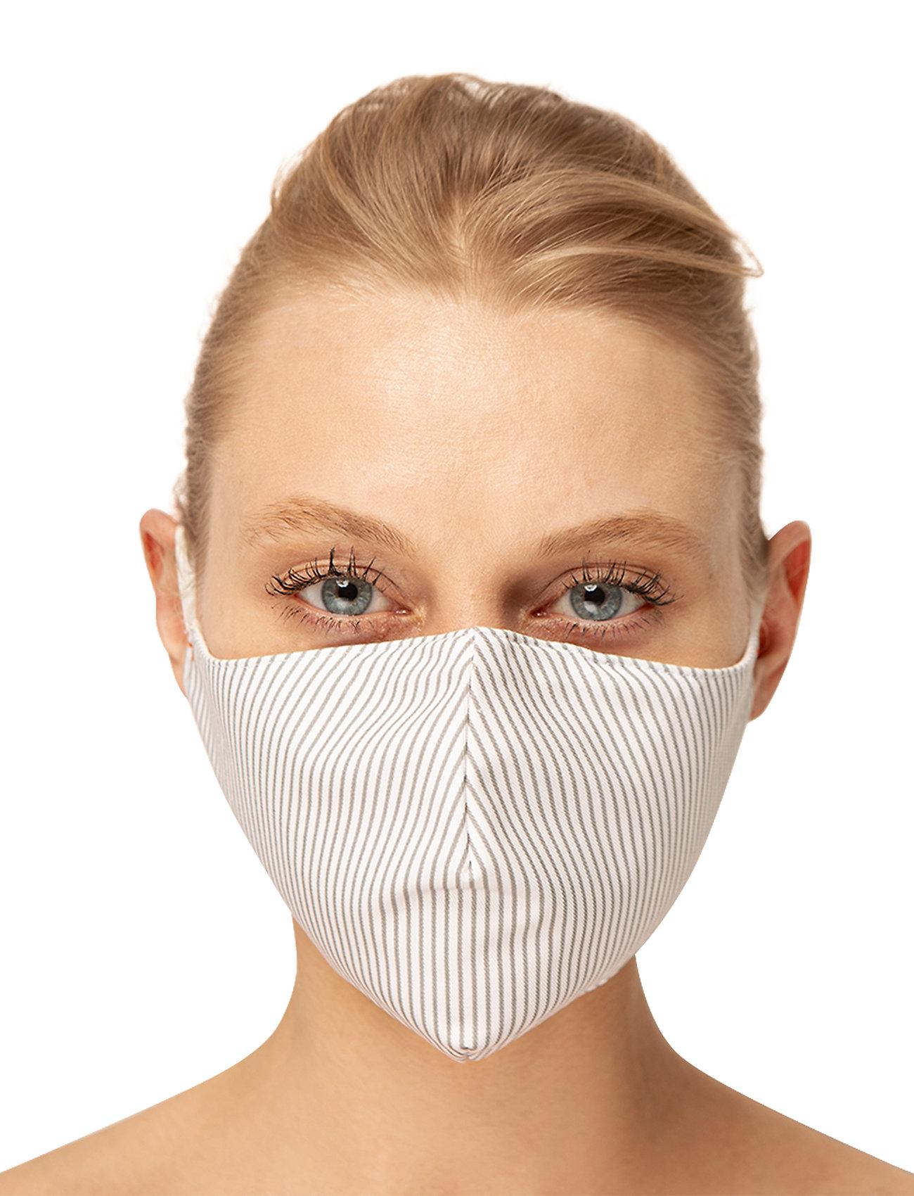 ORAS24 - Reusable face mask 2-pack - gezicht maskers - striped - 0