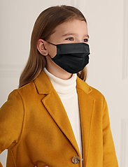 ORAS24 - Reusable 3 layer Classic Face Mask Kids - maski na twarz - black - 0