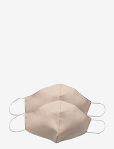 Reusable face mask 2-pack - face masks - nude
