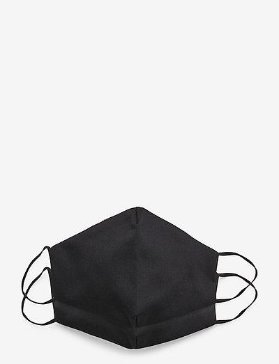 Reusable face mask,2 pack, Kids 2-10 - ansiktsmasker - black