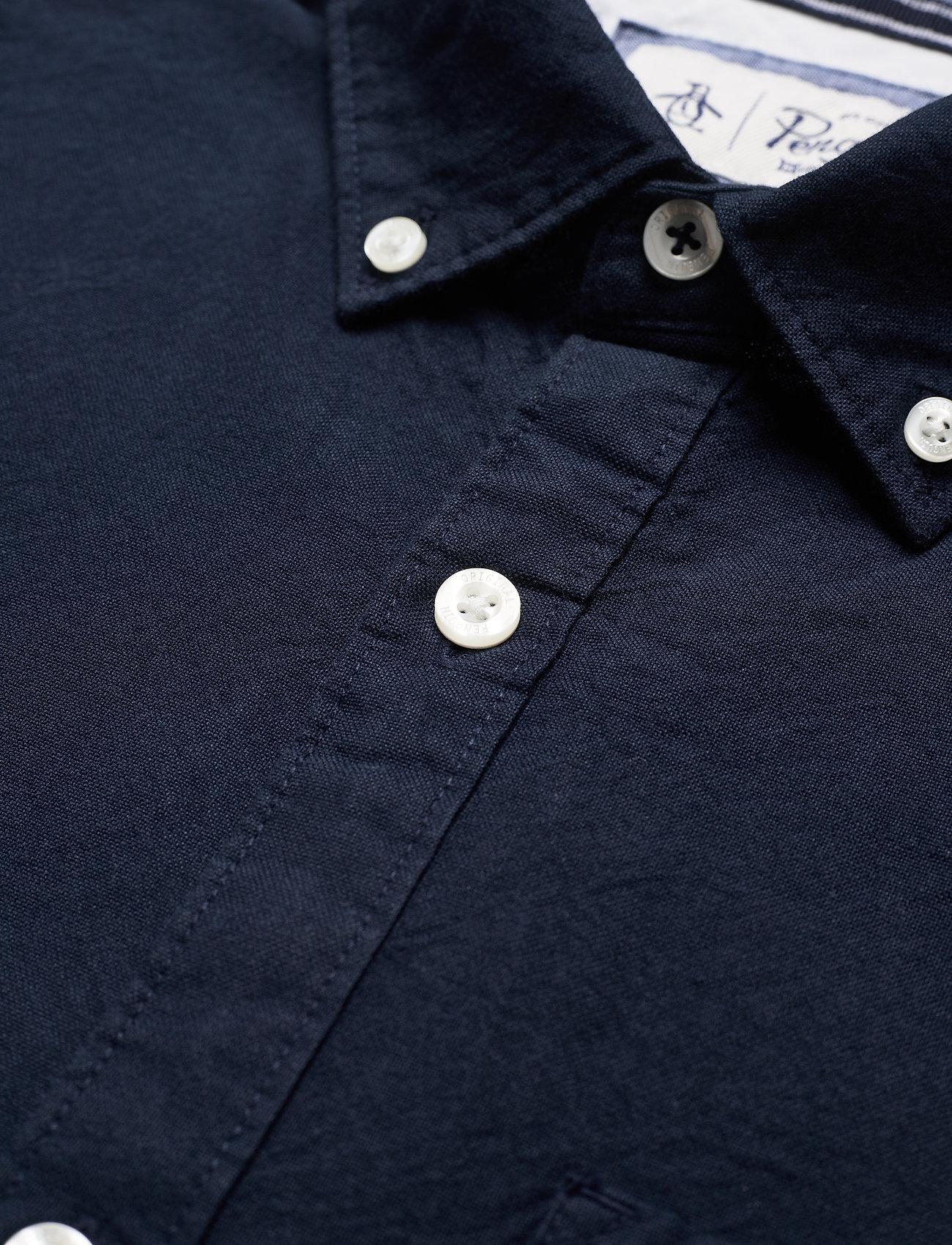 Long Sleeved Cotton Oxford Shirt (Dark Sapphire) (45 €) - Original Penguin kjJvG