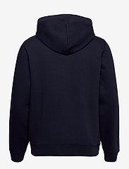 Original Penguin - ZIP THROUGH SMALL LOGO HOODIE - basic sweatshirts - dark sapphire - 2