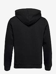 Original Penguin - ZIP THROUGH SMALL LOGO HOODIE - basic sweatshirts - true black - 2