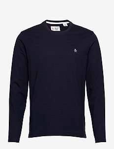 SMALL LOGO LONG SLEEVED T-SHIRT - basic t-shirts - dark sapphire