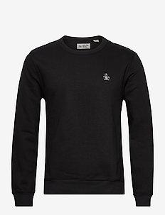 SMALL LOGO SWEATSHIRT - basic sweatshirts - true black