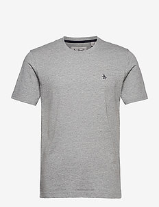 SMALL LOGO SHORT SLEEVED T-SHIRT - basic t-shirts - rain heather