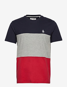 COLOUR BLOCK T-SHIRT - t-shirts basiques - dark sapphire