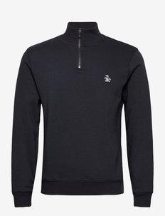1/4 ZIP SWEATSHIRT - basic sweatshirts - dark sapphire