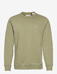 SMALL LOGO SWEATSHIRT - basic sweatshirts - deep lichen green