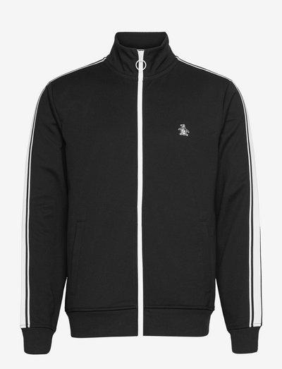 EARL TRACK JACKET - mid layer jackets - true black
