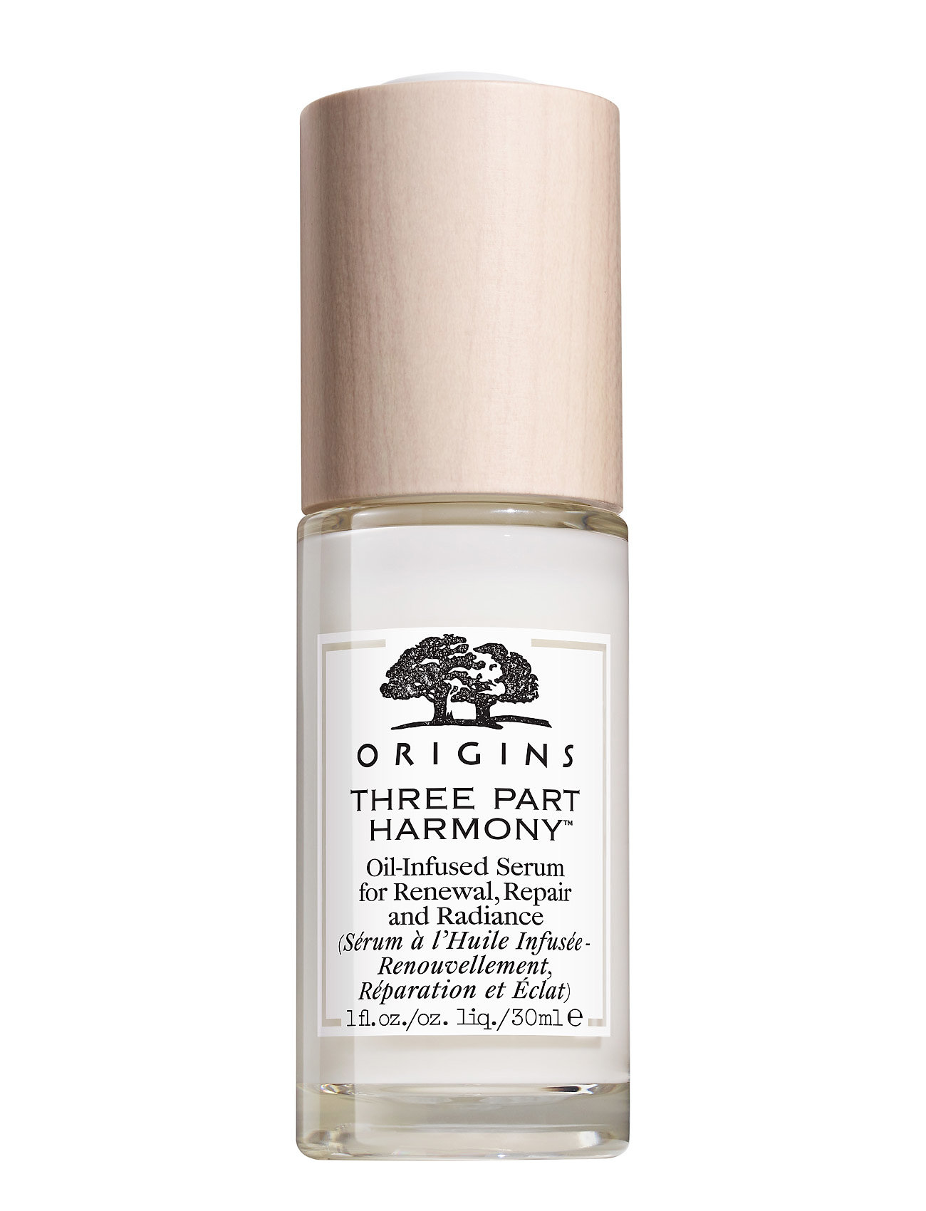 Image of Three-Part Harmony™ Oil-Infused Serum Hudpleje Serum Nude ORIGINS (3158627731)