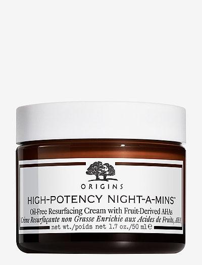 High-Potency Night-A-Mins™ Oil-Free Resurfacing Cream with - päivävoiteet - clear