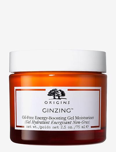 GinZing™ Oil-Free Energy-Boosting Gel Moisturizer - dagcreme - clear