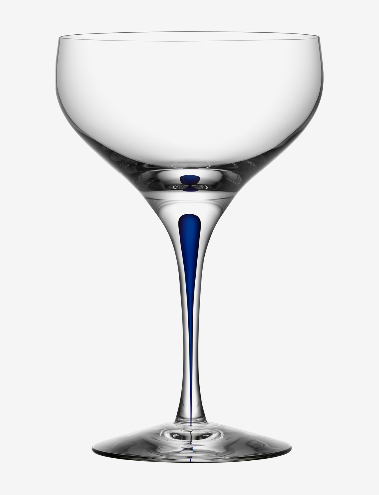 Orrefors - INTERMEZZO COUPE 30CL - champagneglass - blue - 0