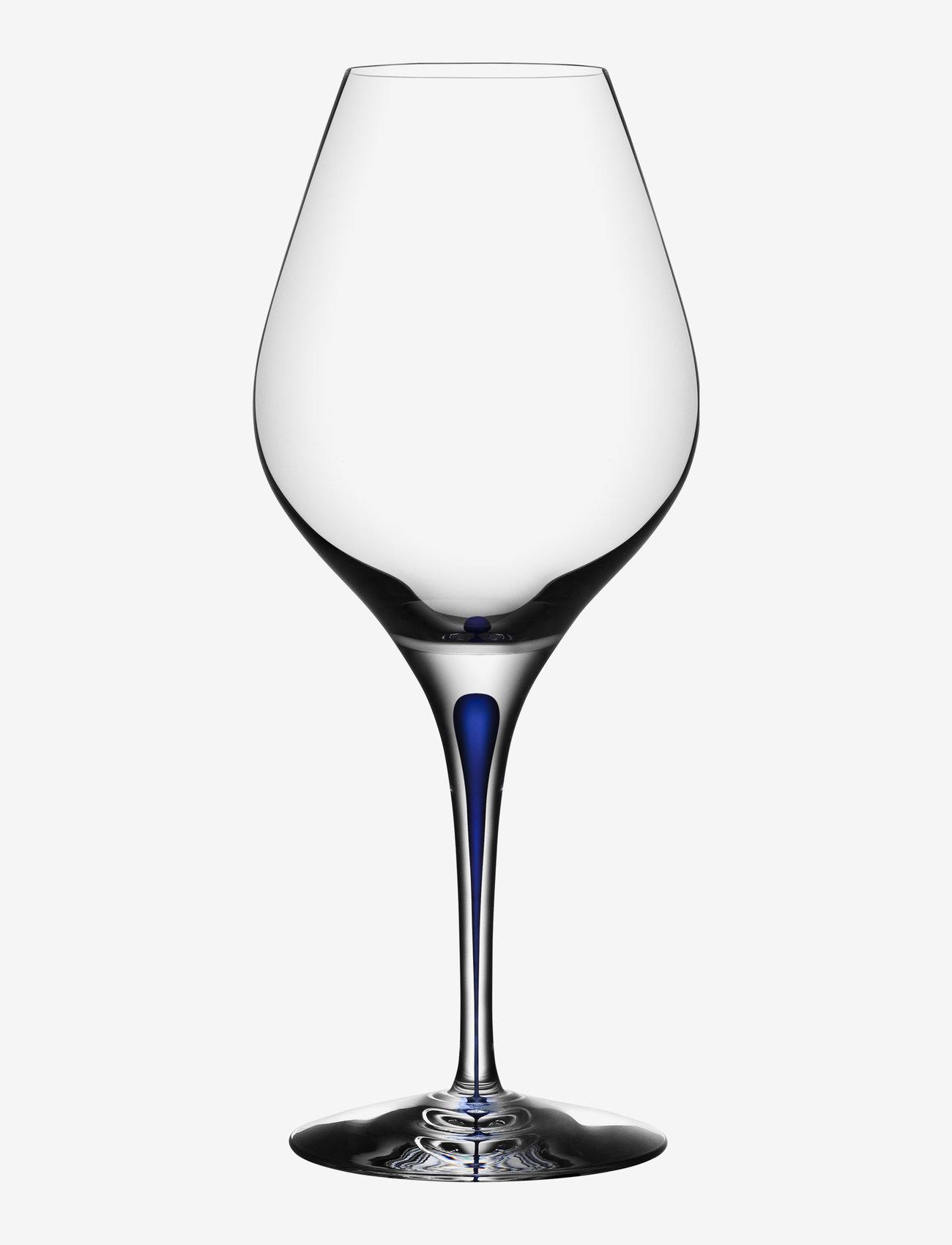 Orrefors - INTERMEZZO BLUE AROMA 62CL (60CL) - vinglass - blue - 0