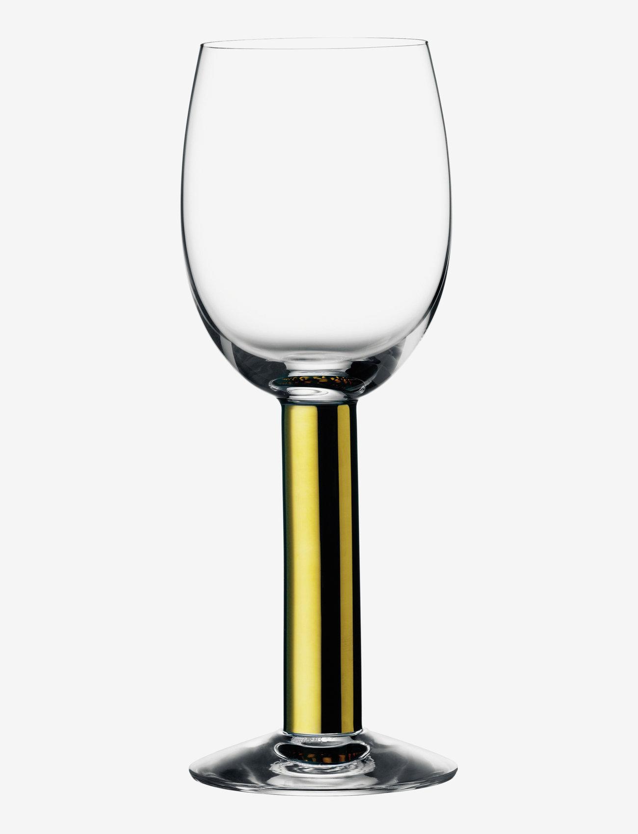 Orrefors - NOBEL WINE 20CL - vinglass - gold - 0