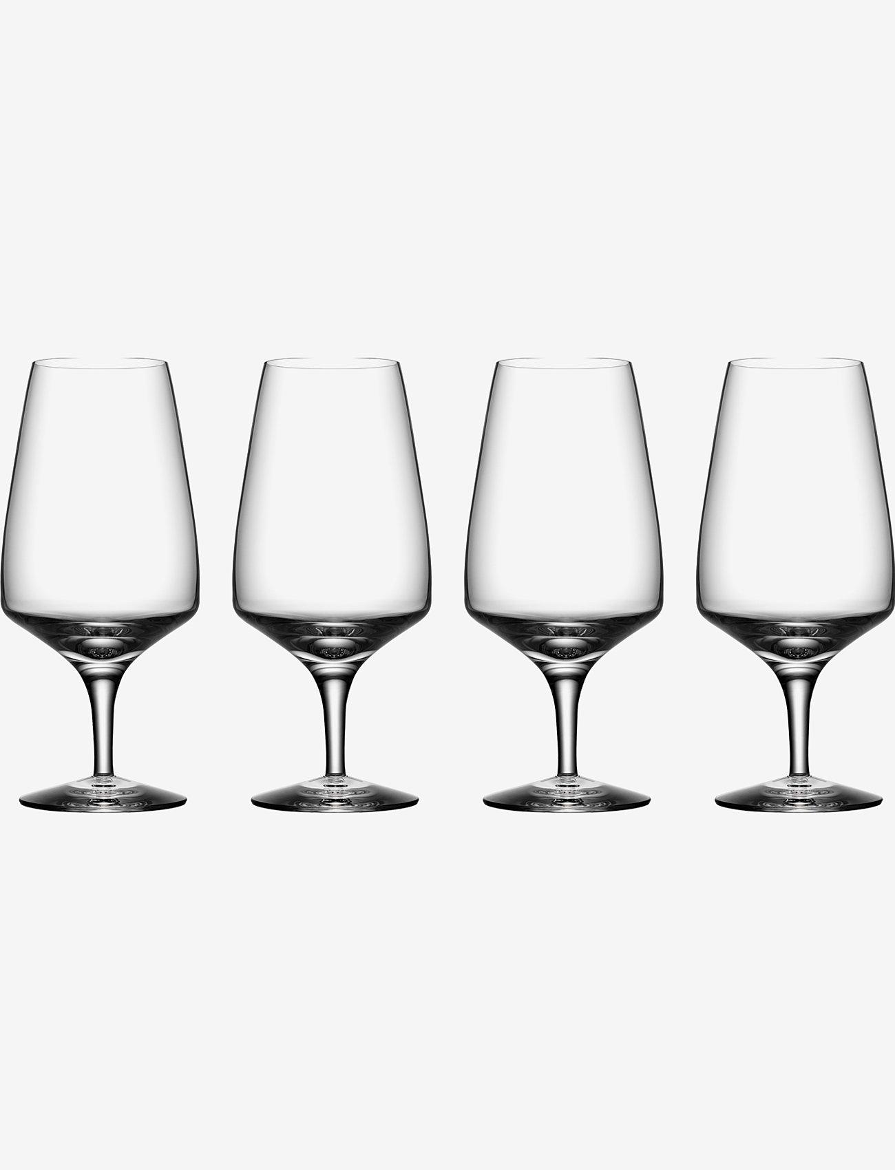 Orrefors - PULSE Beer 4-PACK 55CL - Ølglass - clear - 0